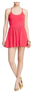French Connection short dress Bright Pink on Tradesy