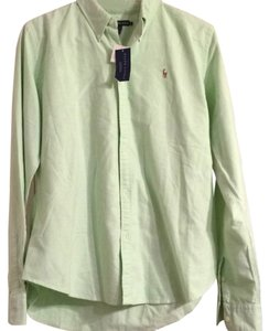 Ralph Lauren Button Down Shirt Light green