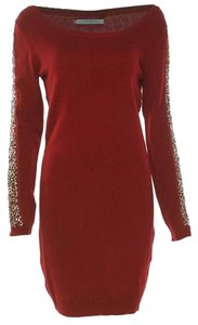 Marc New York Longsleeve Knit Beaded Dress