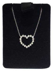 Tiffany & Co. Tiffany & Co. Heart Necklace Diamond PT