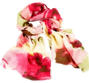 Bindya New York Bindya Floral Cashmere/Silk Scarf