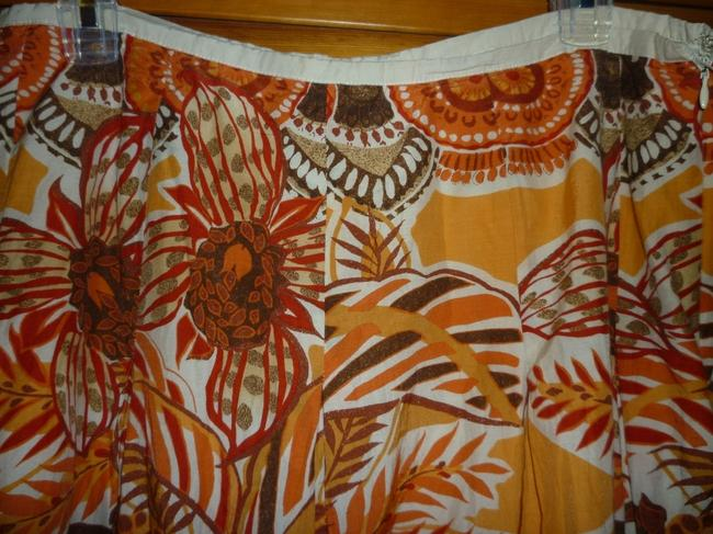 Felicia Boho Summer Skirt Oranges