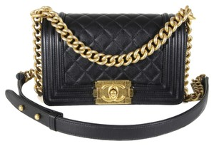 Chanel Boy Classic Quilted Shoulder Bag