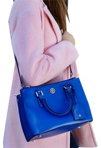 Tory Burch Satchel in Jelly Blue