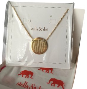 Stella & Dot Signature Engraveable Disc