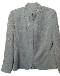 Victor Costa Evening Formal Steel Blue Jacket