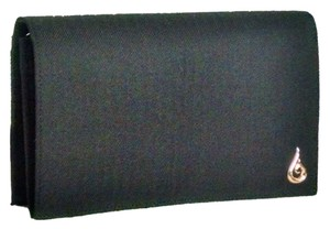 Blu Salt Recycled Fabric Organic Cotton Strap Sustainable 18k Gold Black Clutch