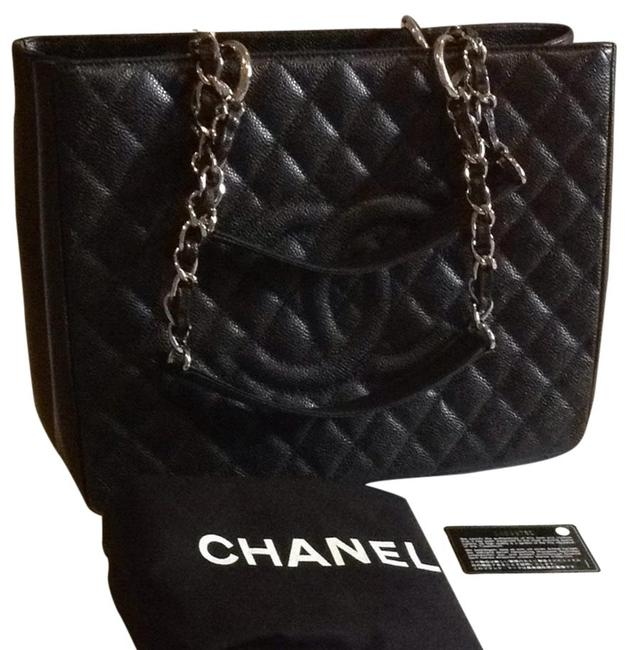 Chanel Shopping Tote Shoulder Bag Chanel Shopping Tote Shoulder Bag Image 1