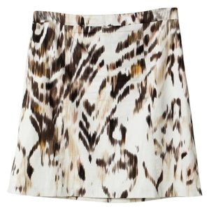 Elie Tahari Mini Straight Size 4 Mini Skirt Multi