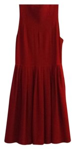 Deletta short dress Red on Tradesy