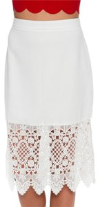 Flying Tomato Skirt white