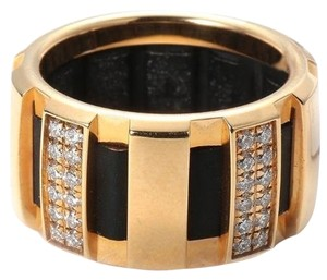 Chaumet Chaumet Class One 18k Yellow Gold Diamond Ring 0.50ct 4.25