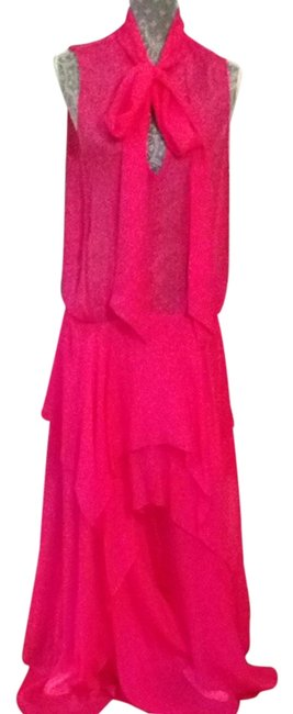 Item - Hot Pink - Long Night Out Dress Size 8 (M)