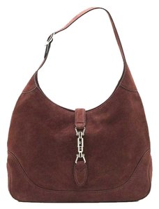 Gucci New Jackie Suede Hobo Bag