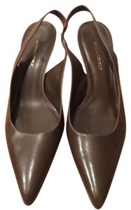 Banana Republic Slingback Leather Brown Pumps