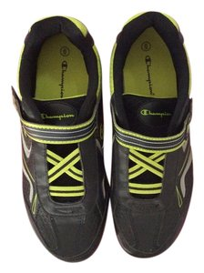 Champion Sneakers Black and lime green Athletic