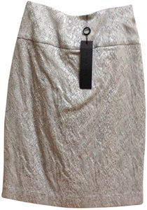 Black Halo Skirt Pewter Gray