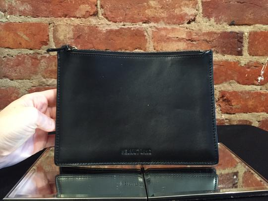 Helmut Lang Leather Purse In In Purse New Black Clutch