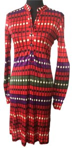 Custo Barcelona short dress Red, multi on Tradesy