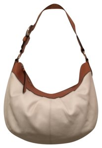 Coach Leather Shoulder Hobo Bag