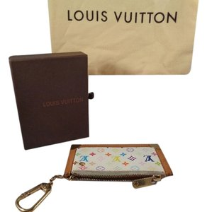Louis Vuitton white multicolor Clutch