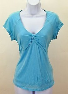 Boden Sky Blue Double Layer Tissue B219 T Shirt