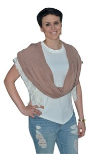 Simonetta Rose Sweater-Knit Infinity Scarf