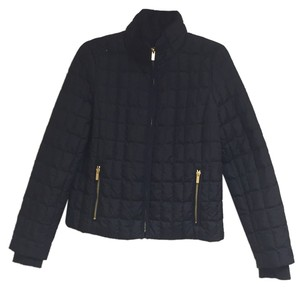 JCrew Black Down Jacket Coat