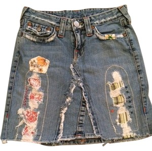 True Religion Skirt Denim