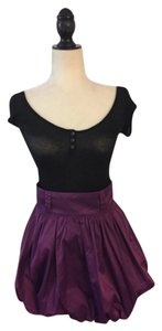 Romeo & Juliet Couture Mini Skirt Magenta