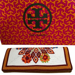 Tory Burch Multi Color Clutch