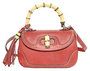 Gucci Top Handbag Coral Shoulder Bag