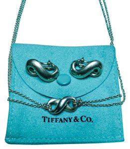 Tiffany & Co. Tiffany & Co. Infinity Necklace and Earrings
