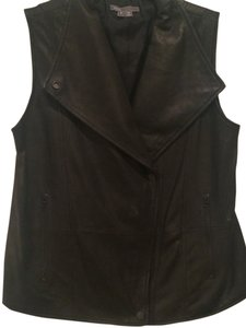 Vince Genuine Leather Leather In Apparel In In Leather Leather New Vest