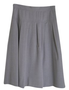 Ellen Tracy Skirt Grey