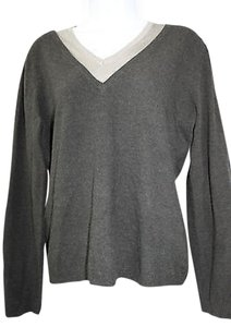 Anne Klein Black Knit Sweater