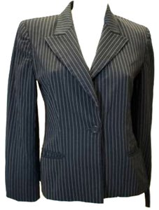 Max Mara Striped BLACK Blazer