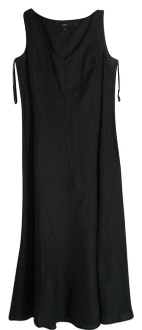 Preload https://item4.tradesy.com/images/talbots-black-night-out-work-long-cocktail-dress-size-4-s-9624373-0-1.jpg?width=400&height=650