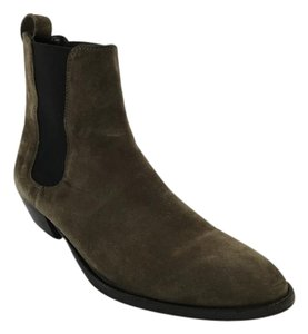 Burberry Tallow Ankle Boot Taupe Boots