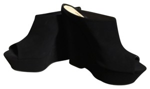 Charlotte Russe Blac Mules