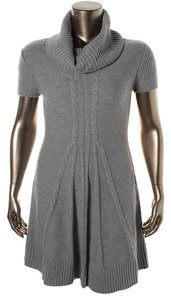 Eliza J short dress Gray Short Sleeve Fall on Tradesy