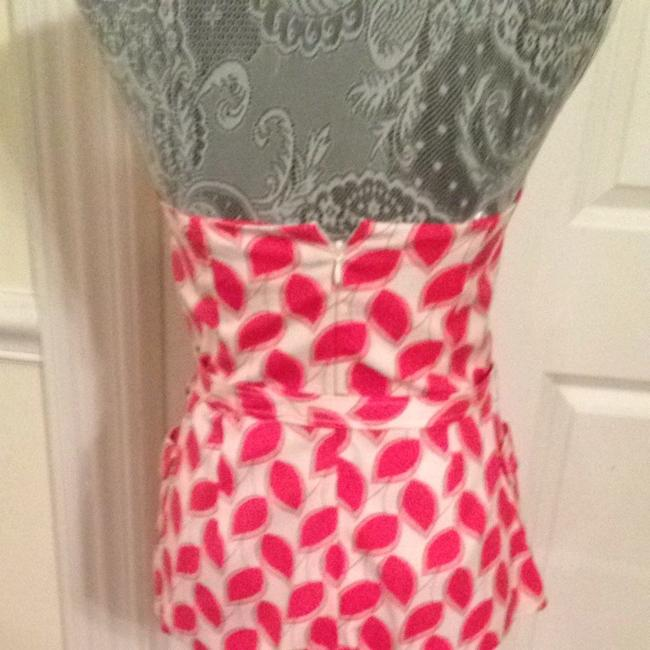 Tracy Reese Top Pink/white