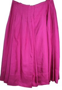 Rachel Roy Pleated Long Skirt ORCHID