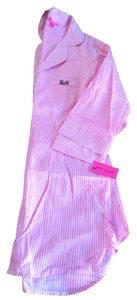 Betsey Johnson Button Down Shirt Pink