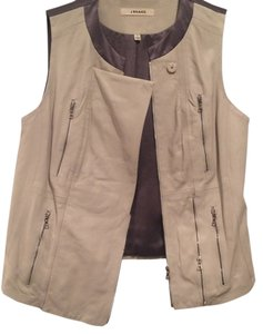 J Brand Zippered Vest