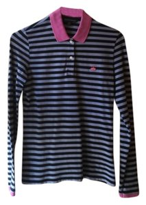 Brooks Brothers Top Navy, light blue and pink