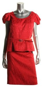 Nipon Boutique Romance Rouge 2 piece skirt suit