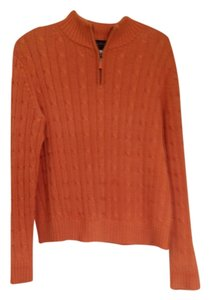 Brooks Brothers Half Zip Cable Sweater