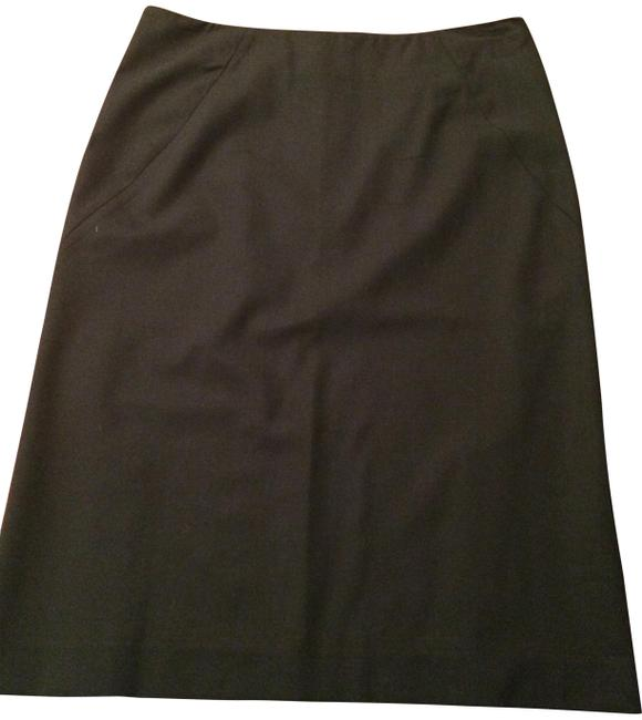 Item - Dark Gray Wool Skirt Size 6 (S, 28)