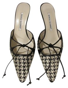 Manolo Blahnik Black and white Formal